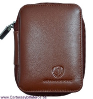 LEATHER WALLET FOR CIGARETTEAND BILLFOLD WALLET