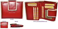LEATHER WALLET PURSE NAPALUX