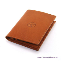 LEATHER WALLET WITH  PURSE PREMIUM QUALITY MADE IN SPAIN
