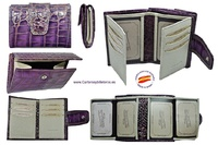 LITTLE WOMEN'S WALLET OF LUXURY SKIN VERY COMPLETE AND GREAT QUALITY