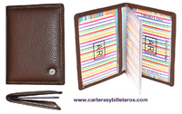 LUXURY LEATHER CARD
