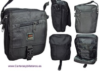 MAB BAG MADE IN GRAPHITECH WITH 10 POCKETS