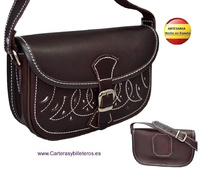 MALL LEATHER BAG FOR WAIST OR SHOULDER