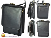 MAN BAG MADE IN LUXURY LEATHER  HIGH QUALITY MADE IN UBRIQUE (SPAIN)