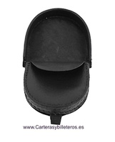 MAN COIN WITH HEEL POCKET WITH INTERIOR POCKET