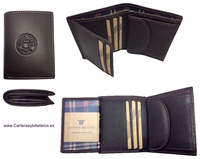 MAN WALLET BRAND BLUNI TITTO MAKE IN LUXURY LEATHER WITH PURSE