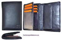 MAN WALLET IN LEATHER NAPA LUX SIZE MEDIUM