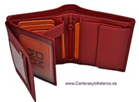 MAN WALLET WITH PURSE  IN LEATHER  NAPA LUX LARGE LOCKABLE
