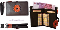 MEDIO WOMEN CARD PORTFOLIO AND WALLET  QUALITY LEATHER