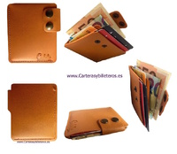 MEN'S LEATHER WALLETS MADE IN SPAIN SMALL