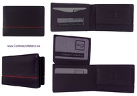 MINI MEN'S WALLET IN VERY COMPLETE LEATHER
