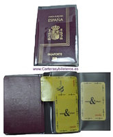 PASSPORTS COVER AND PLANE TICKETS