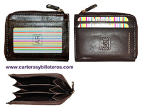 PURSE WITH TRIPLE CARD ALL SKIN.