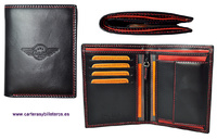 REMIUM LEATHER WALLET WALLET BRAND OMMO