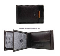 SMALL WALLET MEN'S LEATHER SUMUM BRAND AR