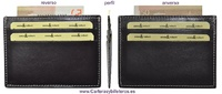 SUPER FINE WITH LEATHER CARD HOLDER WALLET