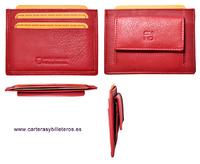 SUPERFINE LEATHER BILLFOLD WITH  PURSE