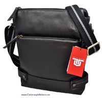 UBRIQUE LUXURY LEATHER HANDBAG BRAND TITTO BLUNI GRANDE