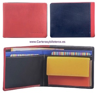 UNISEX MULTICOLOR SUPER COMFORTABLE LEATHER WALLET