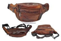 WAIST BAG MADE OF SKIN AND ADJUSTABLE 7 POCKET