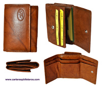 WALLET BILLFOLD OF LEATHER QUALITY FOR MENS