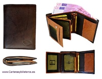 WALLET FOR MAN IN SKIN OF QUALITY WITH WALLET LARGE