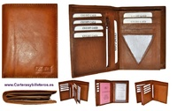 WALLET IN LEATHER FOR MAN WITH HOLDER AND ATTACHE
