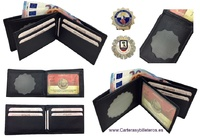 WALLET LOCAL POLICE HOLDER IN LETAHER MADE IN SPAIN