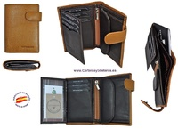 WALLET MAN LEATHER BRAND TITTO BLUNI LEATHER