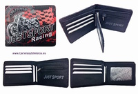 WALLET  MEN BRAND JUST SPORT WITH PURSE