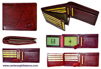 WALLET OF HORIZONTAL OPENING LEATHER PURSE