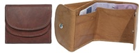WALLET OF LEATHER WITH BILLFOLD VERY SMALL