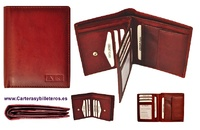 WALLET OF LEATHER WITH PURSE FOR MAN