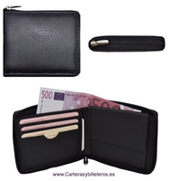 WALLET WITH TOTAL CLOSURE TERNER FOOT ZIPPER MADE IN SPAIN