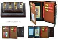 WALLET WOMEN'S WITH A LEATHER BOW QUALITY LUXURY
