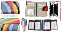 WOMEN'S SMALL LEATHER WALLET WITH EXCLUSIVE DESIGN